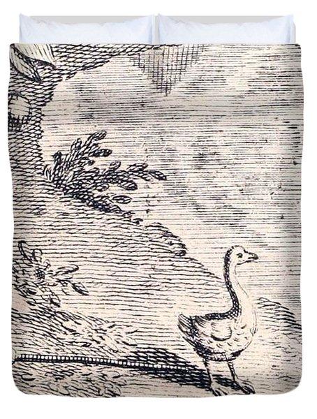 Dodo Bird, Hunted To Extinction Duvet Cover