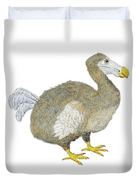 Dodo Bird Protrait Duvet Cover