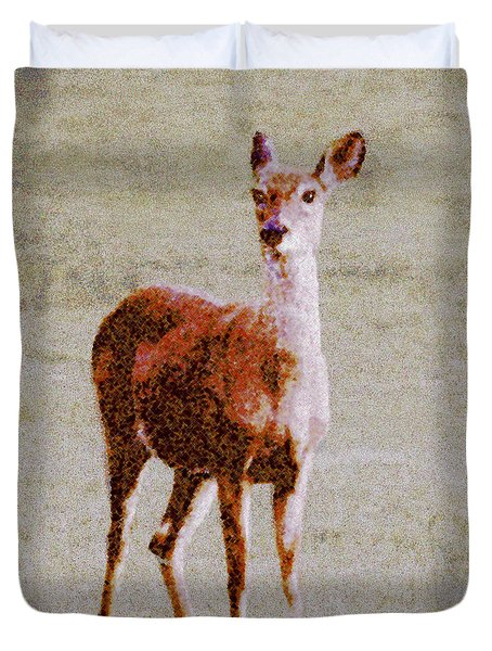 Doe Eyes Duvet Cover