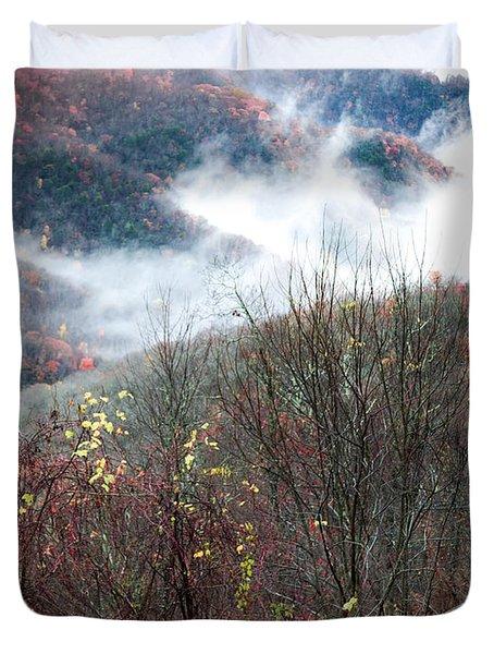 Doe On Autumn Ridge Duvet Cover