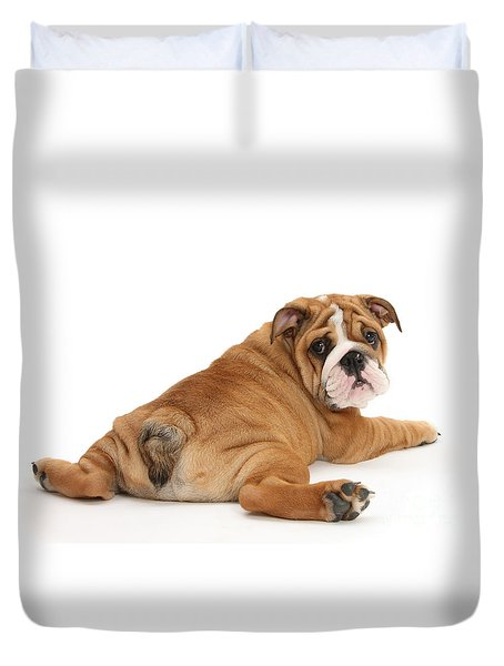 Does My Bum Look Big In This? Duvet Cover