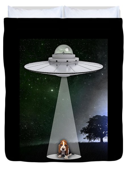 Dog Art Duvet Cover by Marvin Blaine