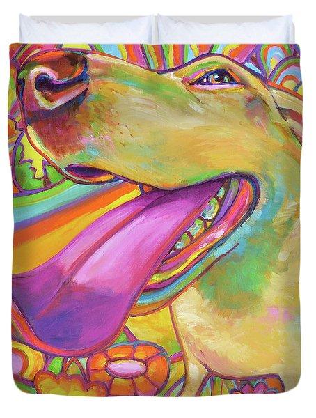 Dog Daze Of Summer Duvet Cover