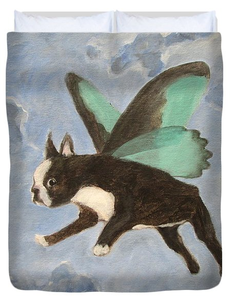 Dog Fairy  Duvet Cover