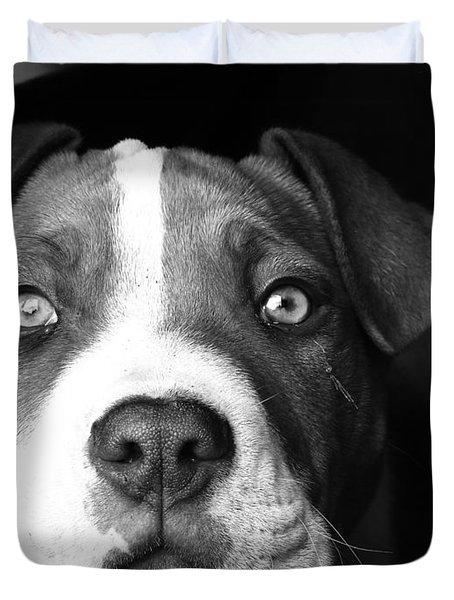 Dog - Monochrome 2 Duvet Cover
