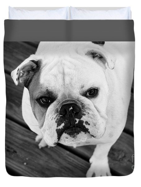 Dog - Monochrome 6 Duvet Cover