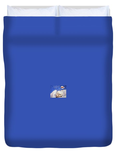 Doggie Dreams Duvet Cover