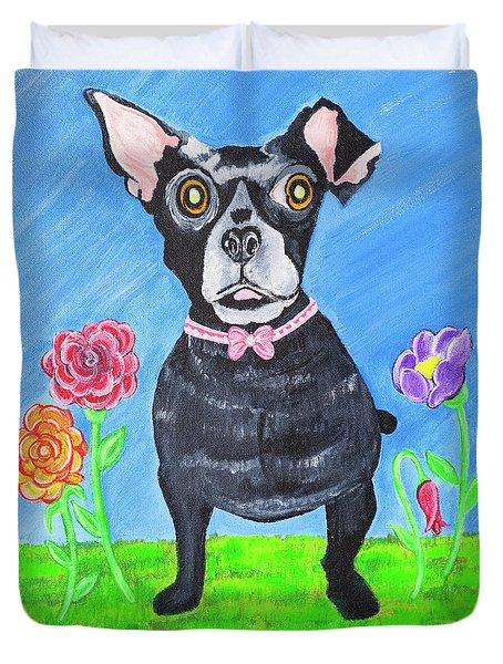 Doggone Delightful Duvet Cover