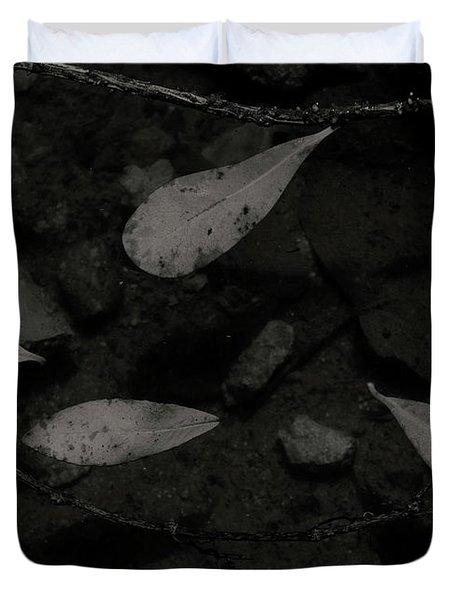Foglie Morte Duvet Cover