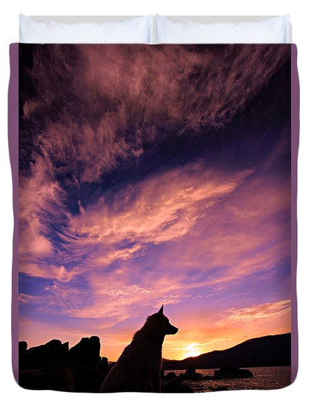 Dogs Dream Too  Duvet Cover