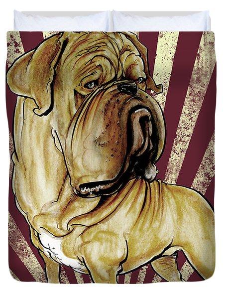 Dogue De Bordeaux Revolution Duvet Cover
