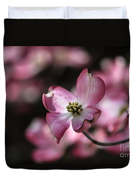 Dogwood  Duvet Cover by Brenda Bostic