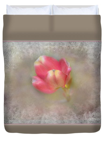 Dogwood Bud Duvet Cover by Brenda Bostic