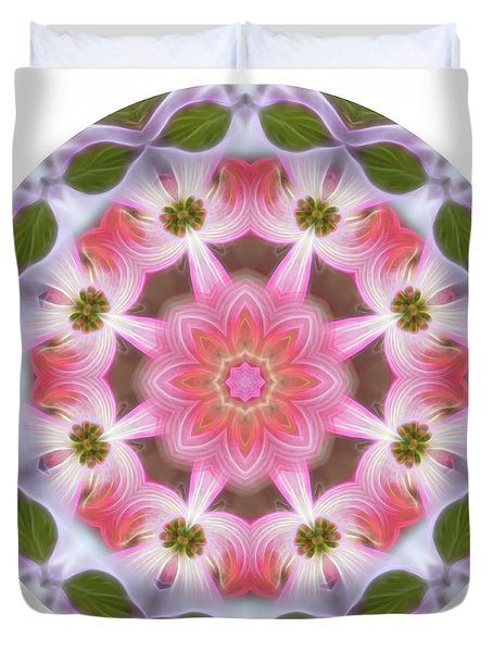 Dogwood Energy Mandala Duvet Cover