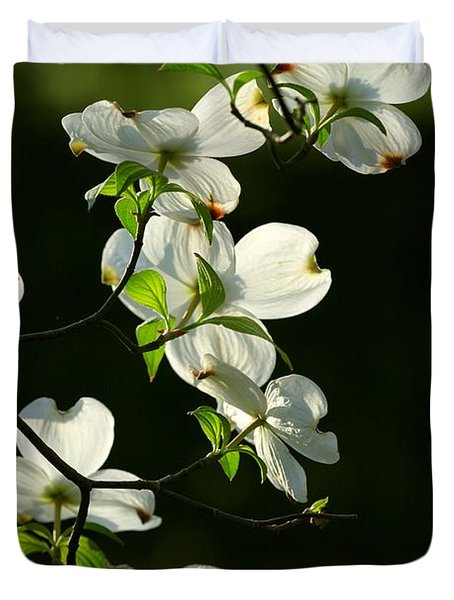 Dogwood Retrospective Duvet Cover by Michael Dougherty