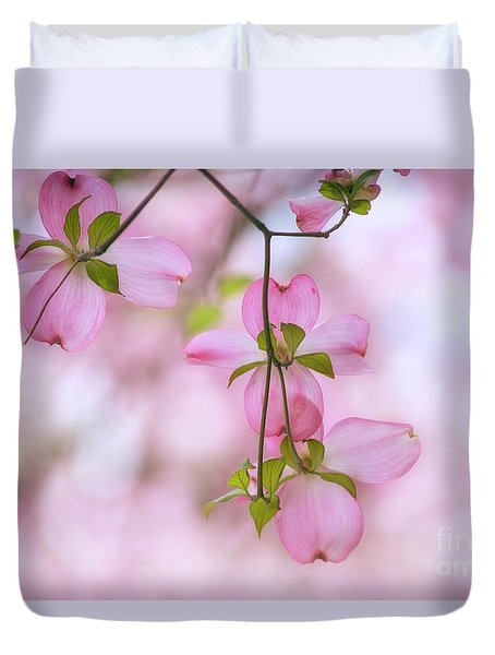Dogwood Sunset Duvet Cover by Rima Biswas