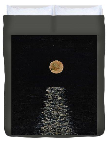 Doha Moonrise Duvet Cover