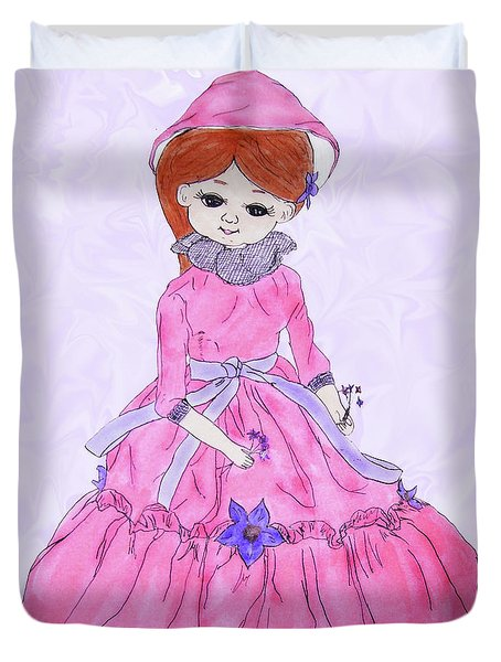 Doll Duvet Cover