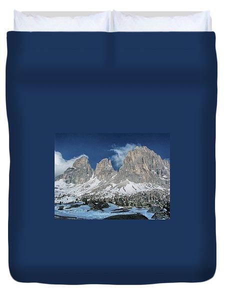 Dolomites 1 Duvet Cover
