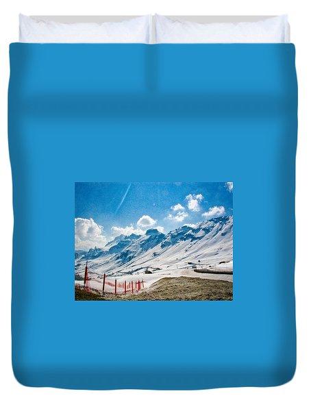 Dolomites 3 Duvet Cover