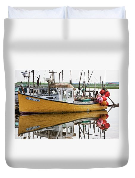 Dolores Ann The Old Fair Lady Duvet Cover