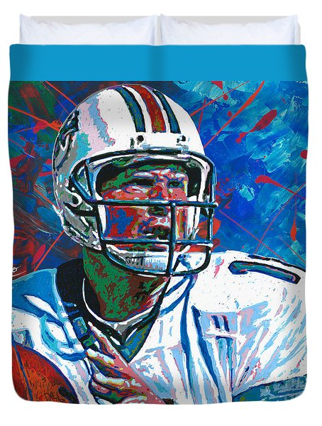 Dolphins Legend Duvet Cover