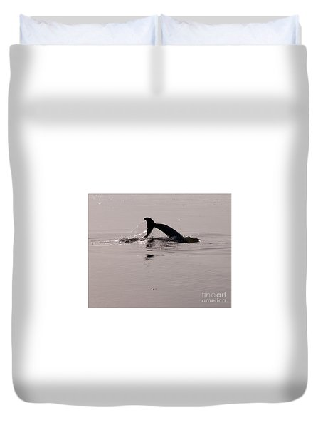 Dolphin Tail Duvet Cover
