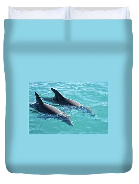 Dolphins Duvet Cover
