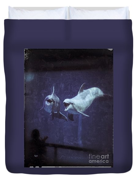 Dolphinspiration Duvet Cover