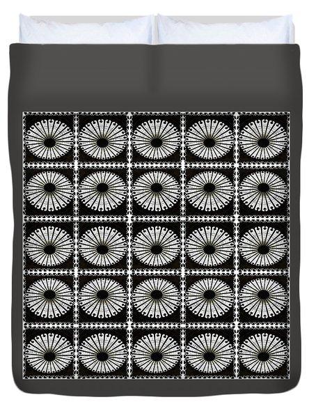 Domed Kaleidescope Duvet Cover