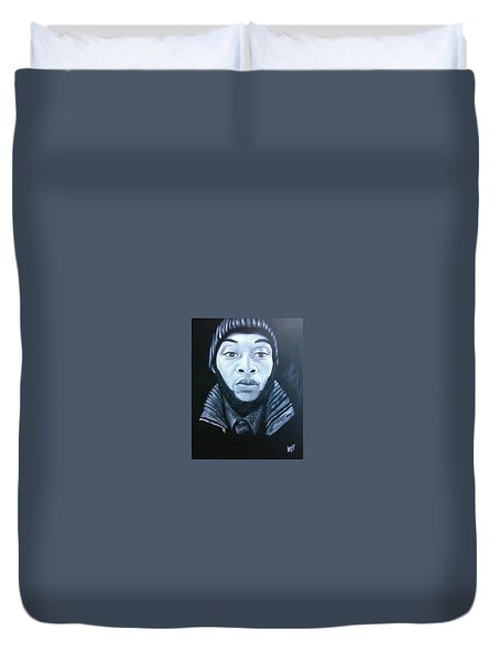 Dominic Duvet Cover by Jenny Pickens