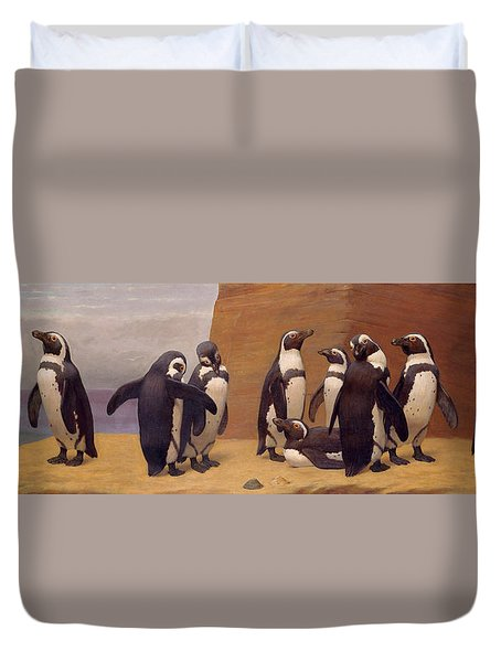 Dominicans In Feathers Duvet Cover