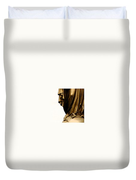 Dominion Over The Serpent Duvet Cover