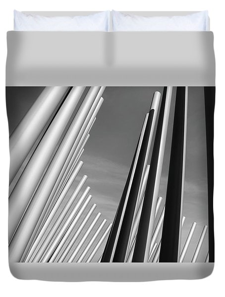 Domino Effect Duvet Cover