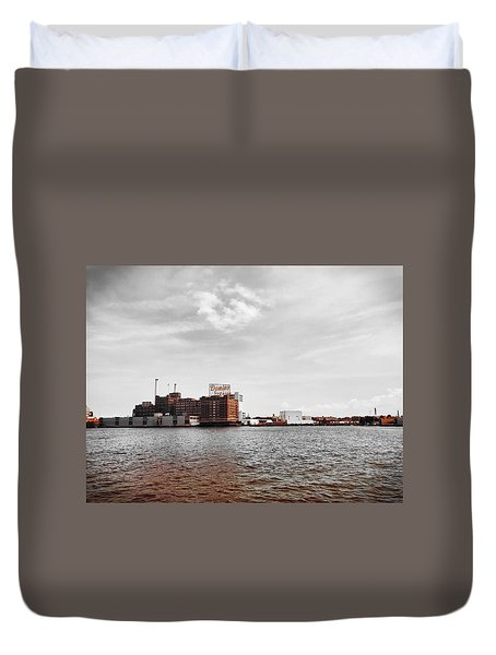 Domino Sugar Duvet Cover