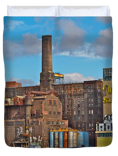 Domino Sugar Water View Duvet Cover