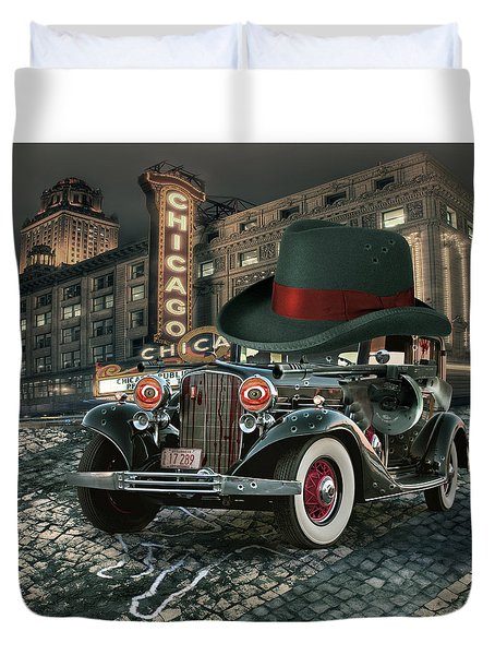 Don Cadillacchio Duvet Cover