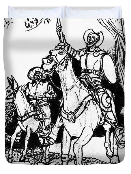 Don Quixote Duvet Cover