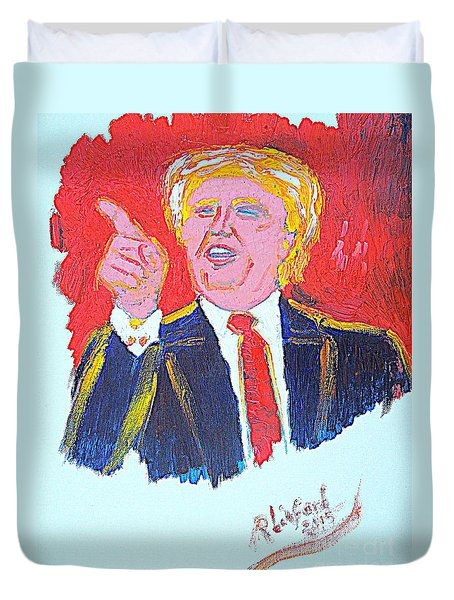Donald Trump You Are Great America Is Great  Duvet Cover