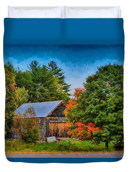Done With Summer Duvet Cover by Tricia Marchlik