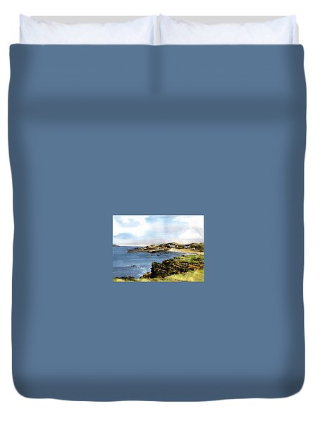 Donegal.  Port Na Blagh Duvet Cover