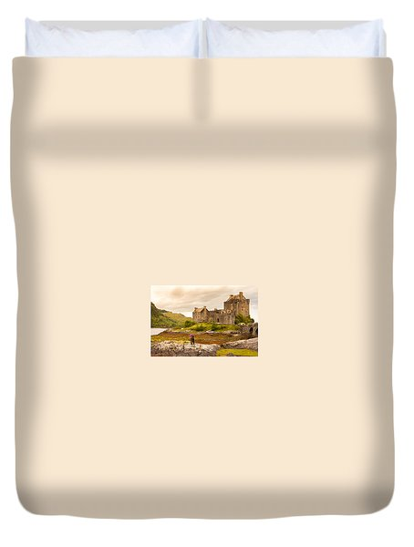 Donan Castle Duvet Cover