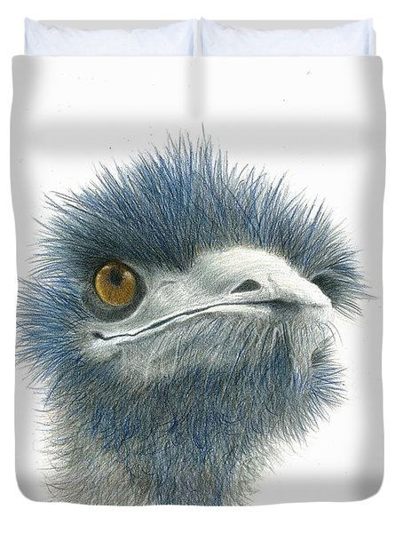 Dont Mess With Emu Duvet Cover