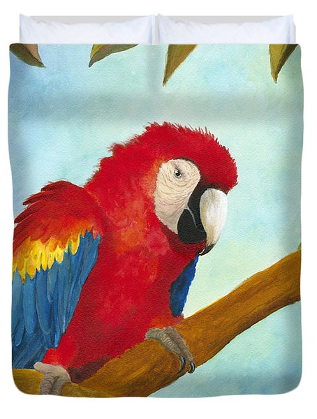 Dont Ruffle My Feathers Duvet Cover