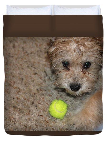 Don't Take My Ball Duvet Cover