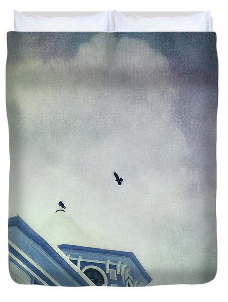 Don't Wait Around Duvet Cover by Priska Wettstein