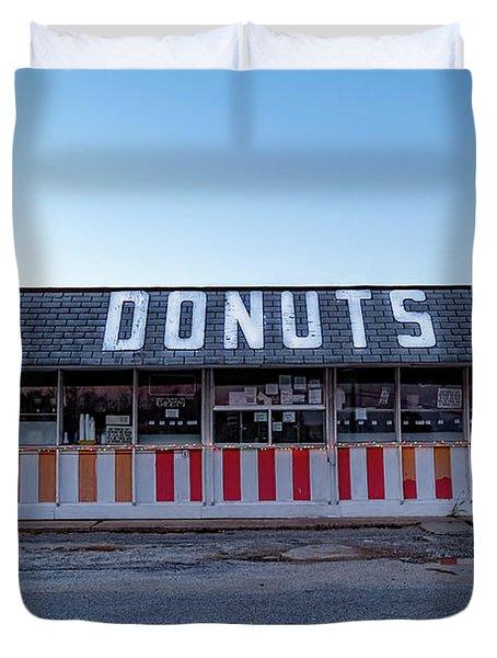 Donut Shop No Longer 3, Niceville, Florida Duvet Cover