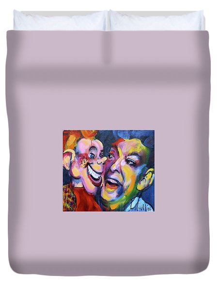 Doody And Bob Duvet Cover