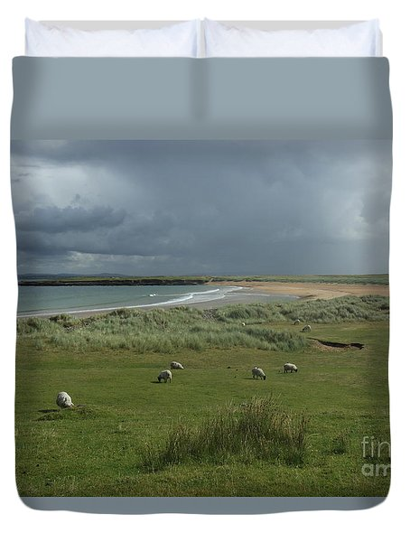 Doogh Beach Achill Duvet Cover