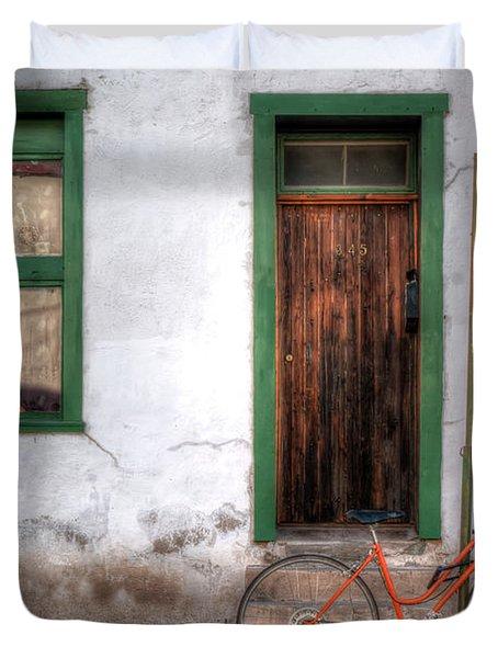 Door 345 Duvet Cover